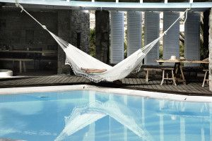 ...awake but dreaming about taking a siesta? A nap is never as good as the San Giorgio in Mykonos!