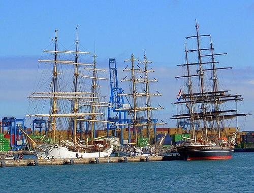 3 Veleros - 3 Tall Ships