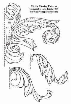Classic Lines and Leaves Pattern Package - download: