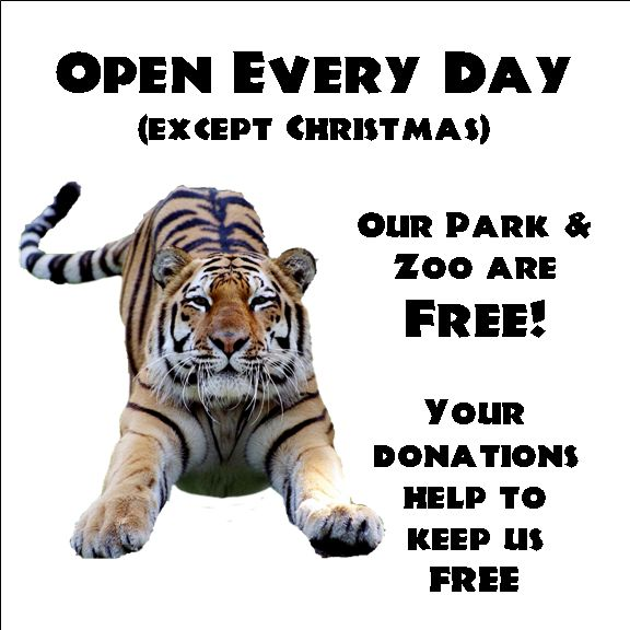 Over 550 species of animals ; open all year  from 10-4:30 .Free admission. Cape May County Park & Zoo