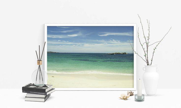 Beach Photo, Ocean Print, Beach Print, Sea Print, Beach Decor, Travel Photography, Fine Art Photography, Photography Prints, Wall Art Prints by SilBarragan on Etsy