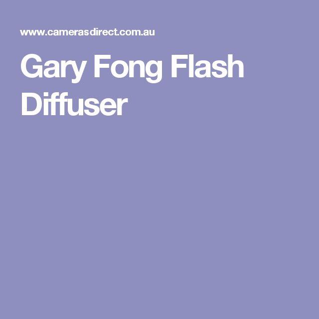 Gary Fong Flash Diffuser