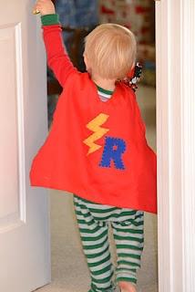 DIY super hero cape