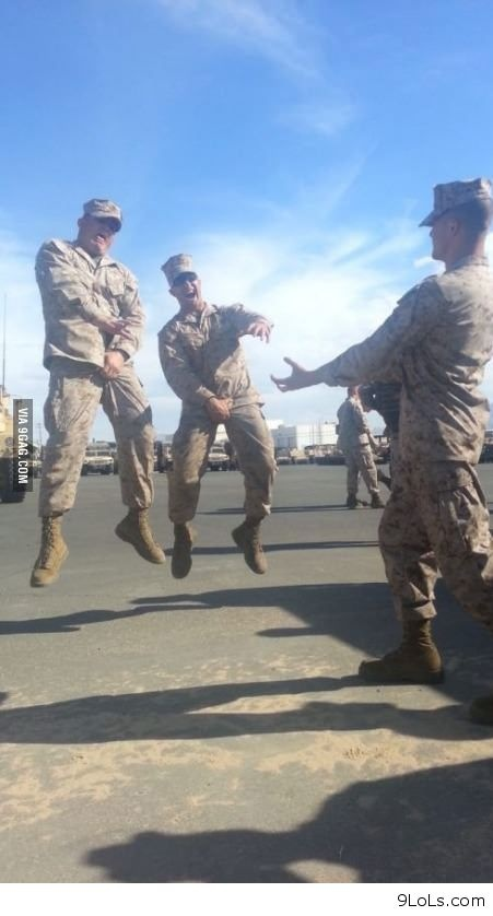 Funny army picture