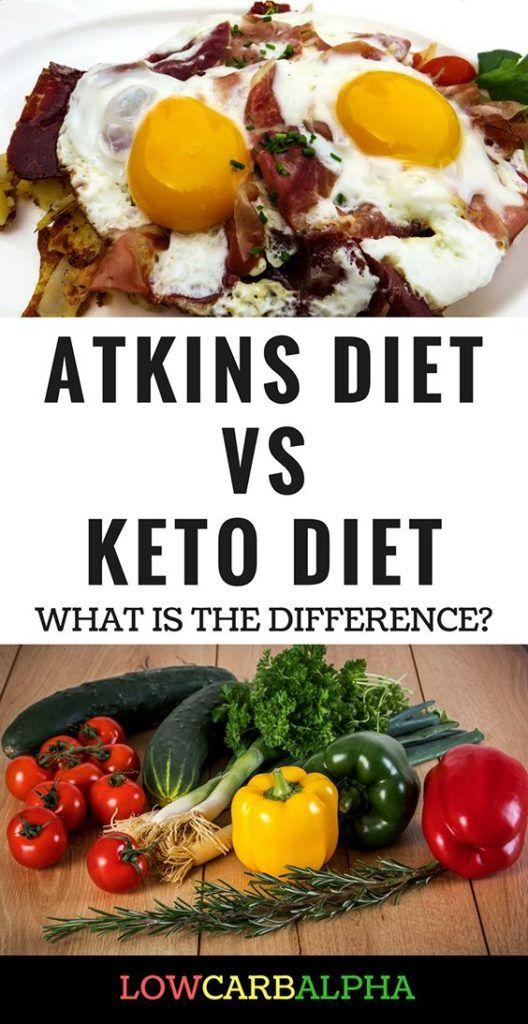 Atkins vs Ketodiät