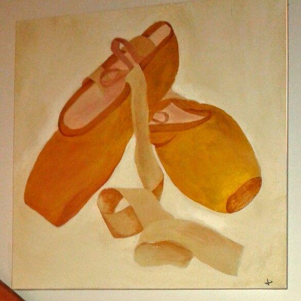 Ballet 30 x 30   #art #painting #haitianartist #haitianpainter #AnnieCharlot #likes #creativity  #acrylicpainting #danse
