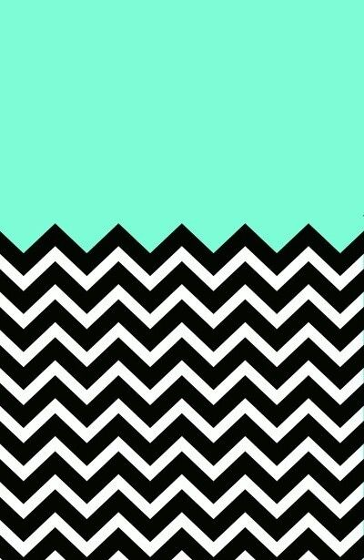 This is beautiful especially because I love love love Chevron wallpapers don't you