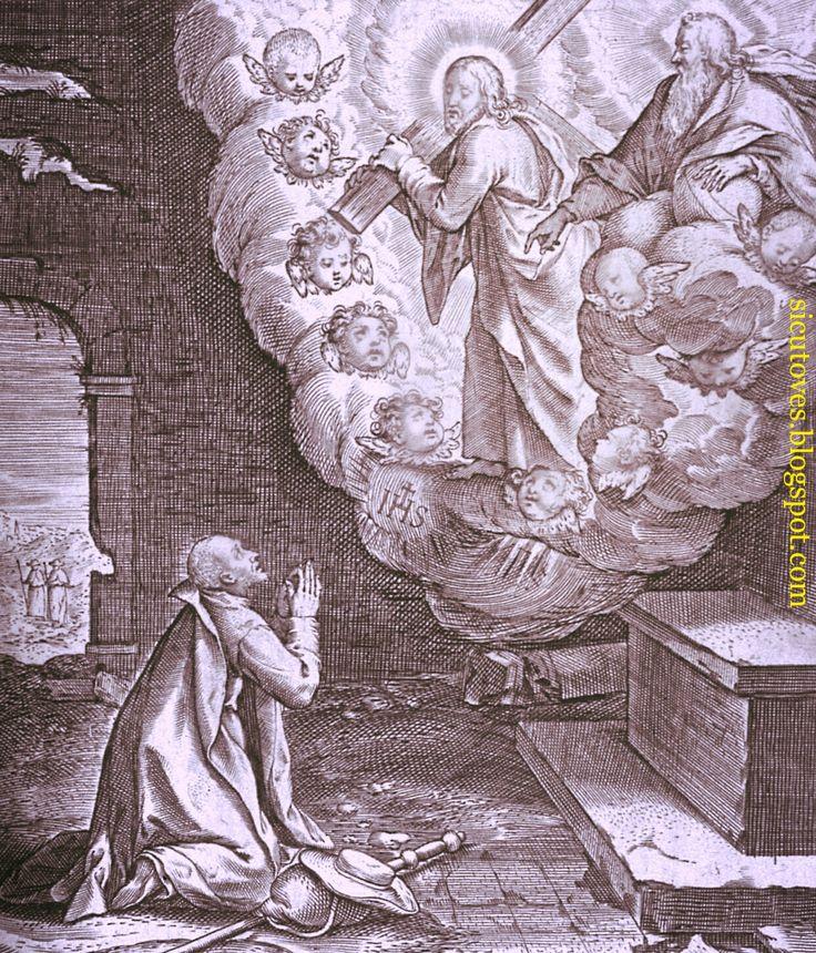 """Visión de San Ignacio de Loyola. La promesa de Cristo """"En Roma os seré favorable"""""""