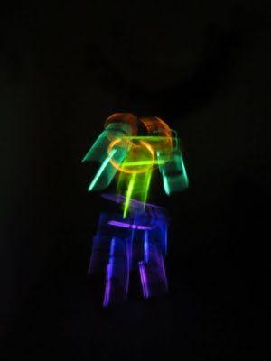 fun things with glow sticks