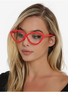 Bobby!! Pour a glass of wine and become your favorite cartoon mom. These red faux-glasses will have you plotting your next dinner theater piece in no time. Imported