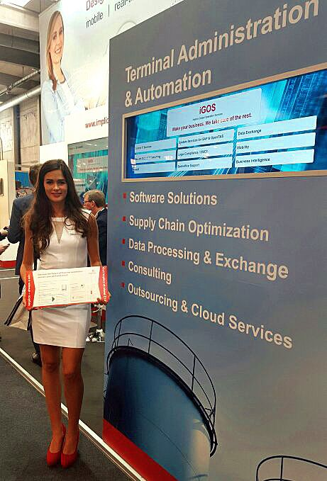 Meet our hostess Chloe at the StocExpo
