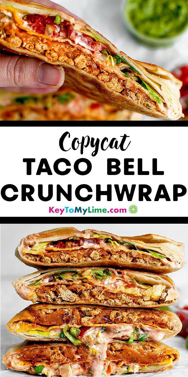 Homemade Crunchwrap Supreme Recipe Key To My Lime Recipe Recipes Christmas Recipes Dinner Main Courses Easy Holiday Recipes