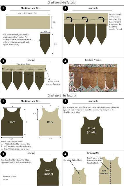 Ideas para un disfraz de romano