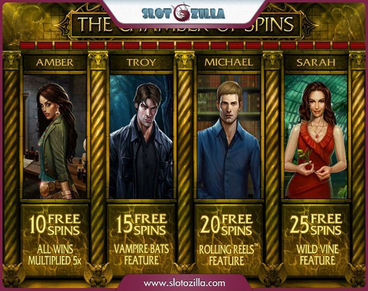 Love and Intrigue in the new slotmachine by @microgaming!  The Immortal Romance free slot is a mystique tale of forbidden love. You will meet four characters with different life's stories that interweave. Play this wheel of fortune with an awesome plot at #slotozilla