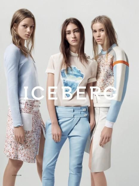 Iceberg S/S 14 with Esther Heesch, Kirstin Liljegren and Marine Deleeuw, photographed by Benny Horne.
