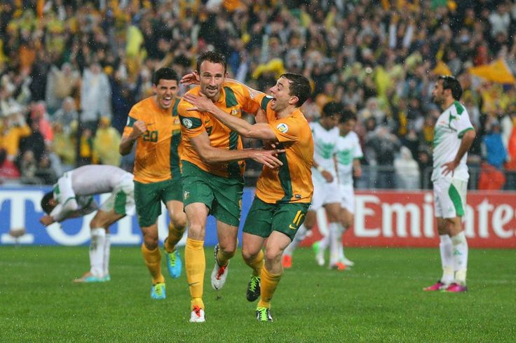 Teams that have qualified for 2014 World Cup  Australia -- AUSTRALIA -- Josh Kennedy scored the goal that sent the Socceroos to Brazil in a 1-0 victory over Iraq in June. (Cameron Spencer/Getty Images)