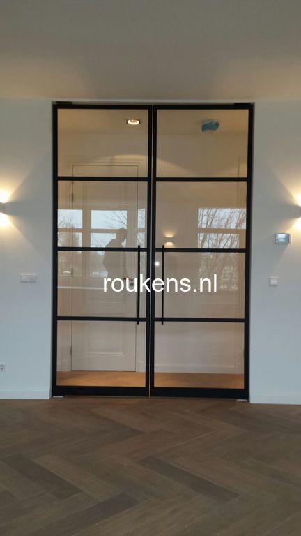 Steellife by roukens stalen deuren taatsdeuren en scheidingswanden met glas roukens - Kleur wc deco ...