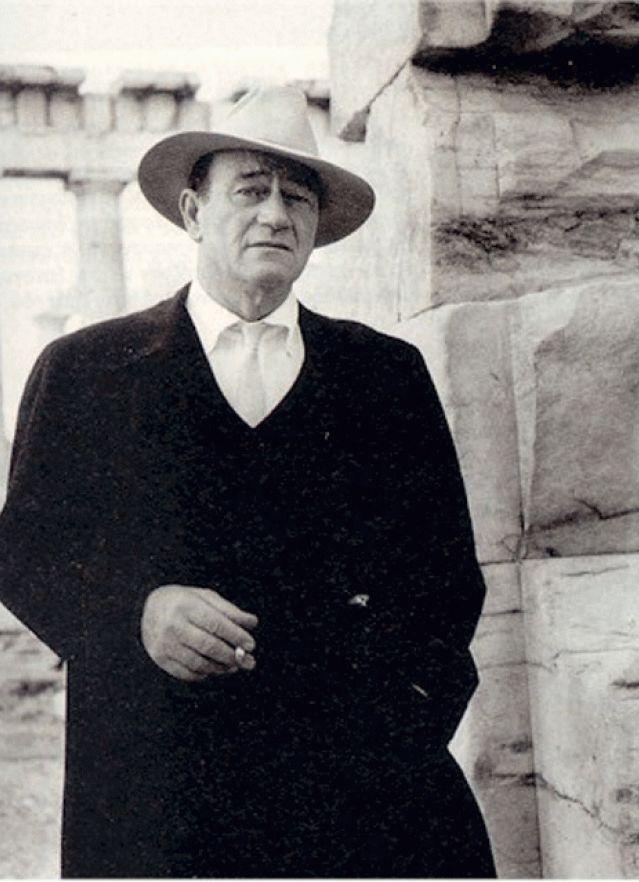 John Wayne at the Acropolis