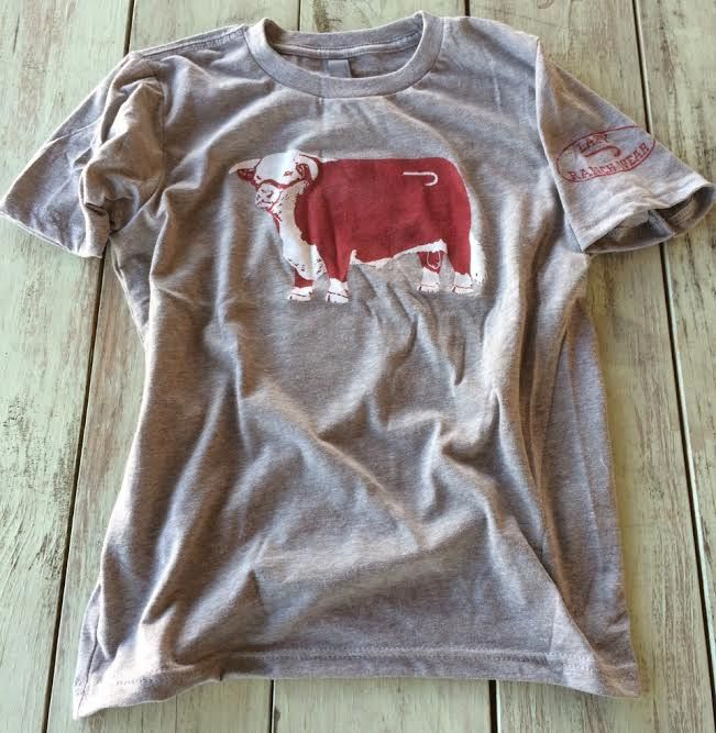 Youth Lazy J Ranch Wear Hereford Logo T-Shirt