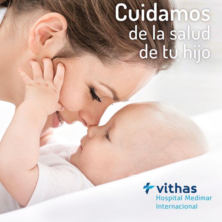 Nosotros también pensamos que lo más importante es la salud de vuestro hijo, por eso, aparte de todo nuestro amor incondicional queremos ayudarte a que crezca sano y fuerte