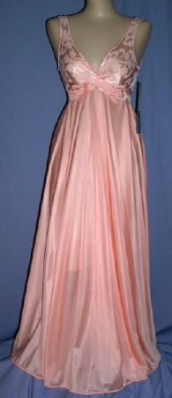 Vintage OLGA ~Jacquard Bodice Gown with 172 inch sweep