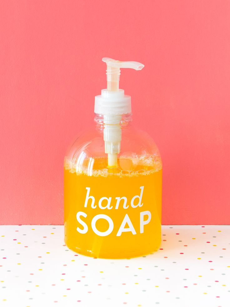 See just how easy and affordable it is to make your own liquid hand soap.