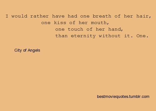 City of Angels quote