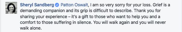 Patton Oswalt Wrote A Heartbreaking Facebook Post About Grieving For His Wife