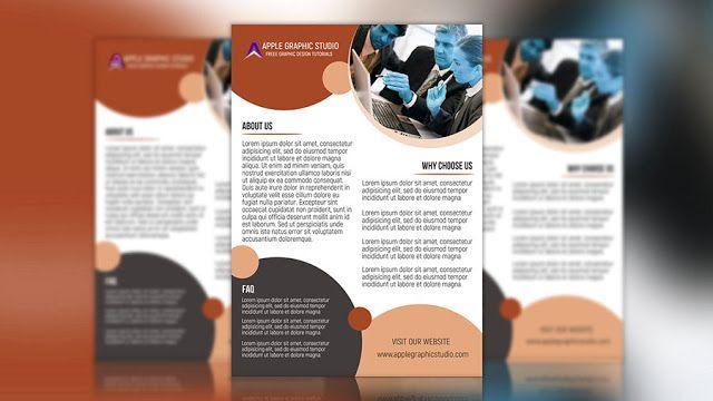How To Create Mockup For Flyer Design Photoshop Tutorial Apple Graphic Studio Flyer Design Photoshop Design Photoshop Tutorial