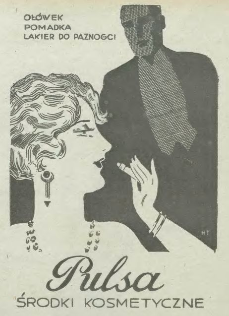 Retro Polish Advert from 1931 #vintage #press #advertisement