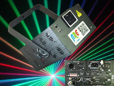 NRG-600 RGB Mini Multi Colour White Light Laser Show Projector + ILDA ***SALE***