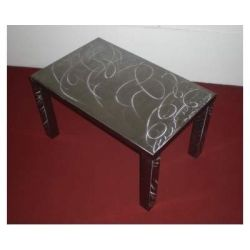 Table wrought iron. cm 60 x 100 x h 45 . 695