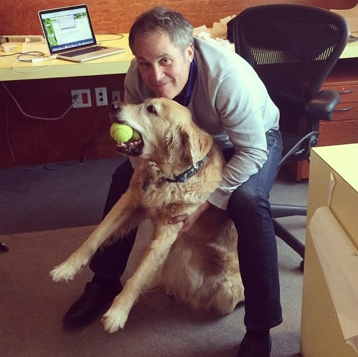 Nothing comes between Don and Murphy. #officedog #bestfriends #tbwa