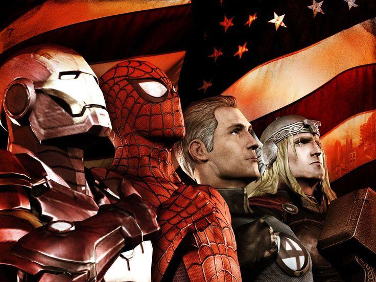 marvel backgrounds   Marvel Ultimate Alliance 2 Wallpaper  Gamebud