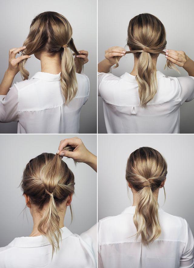 Tutorial: Der einfachste Blasenkamm der Welt (NUDE – #bladder comb #easy #tu …   – Haare / Hair