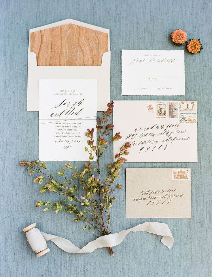 invitations wedding renewal vows ceremony%0A An Intimate Vow Renewal With Rustic Details