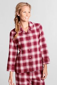 Women's Petite Sleepwear from Lands' End Love their flannels, hope they never stop selling them