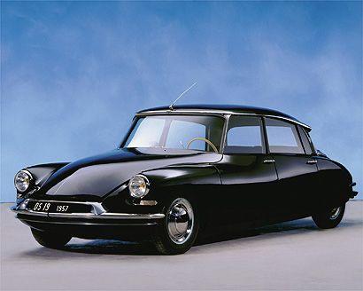 Citröen DS, premiado por una publicación inglesa como el auto más bello de la historia