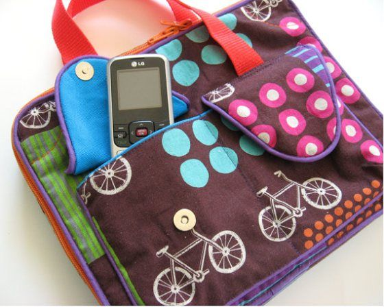 Studio Cherie's iPad or Tablet Carrying Case - Sew and Sell - PDF Pattern