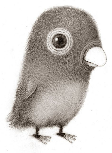 Renee French: Power Drawings, Little Birds, Fun Art Projects, Charcoal Drawings, Rene French, Drawings Birds, French Illustrations, Cute Sketch, Queit Power