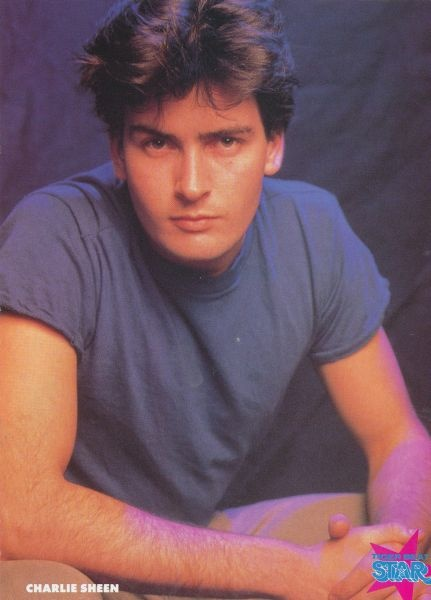 Charlie Sheen (before he went crazy) #childhoodcrush