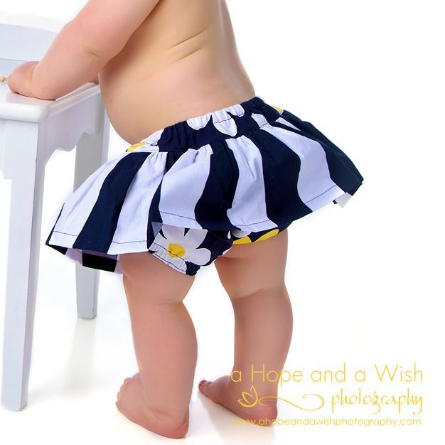 Skirted Diaper Cover for Baby and Toddler - Scooter PDF Sewing Pattern 0-24 months by Tie Dye Diva Patterns