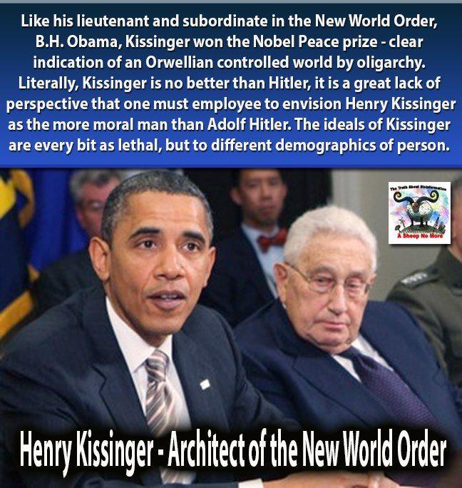 Henry Kissinger – Architect Of The New World Order
