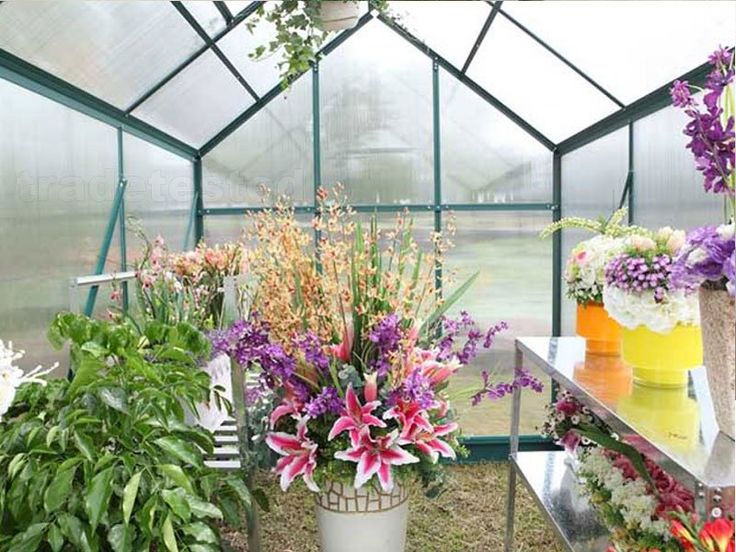 gardening supplies Greenhouse 10 x 8ft Green - 10 x 8ft - Greenhouses - Browse Trade Tested