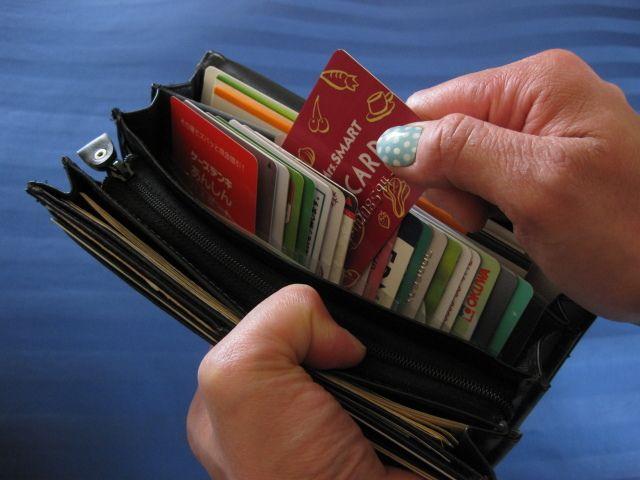 長財布に入るカード入れ 20