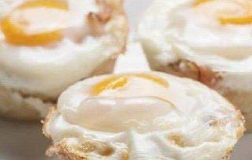 Hrono doručak: mafini sa jajima, slaninom i sirom
