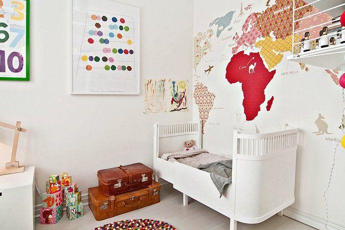Bilder, Barnrum, Säng, Väggmålning - Hemnet Inspiration