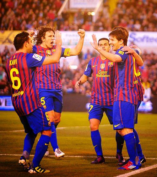 FC Barcelona. Winning. #TheFeelingAintFair