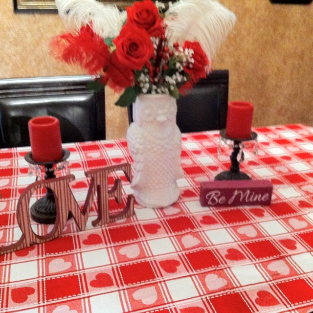 valentine's day table decor ideas
