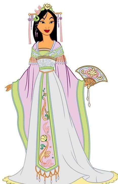 Mulan wedding concept.